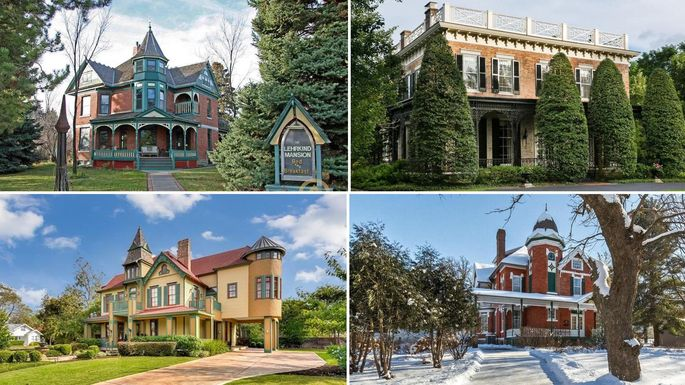 7 homes on the national register of historic places for National house builders