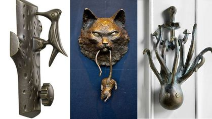 10 Daringly Clever Door Knockers That Will Greet Guests With Panache