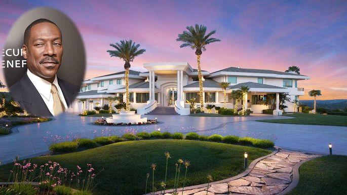 Eddie Murphy's Sacramento Mansion   Celebrity Homes ...