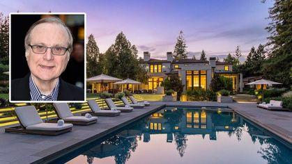 Paul Allen's Atherton Estate Lands on the Market for $41.5M