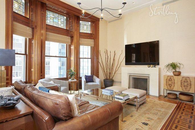 Phil Jackson's NYC home