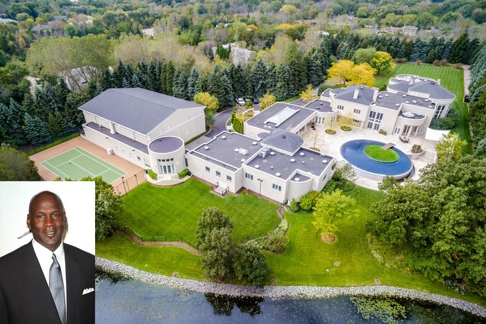 Michael Jordans Bold Plan To Sell His 15M Home Slam Dunk Or Foul