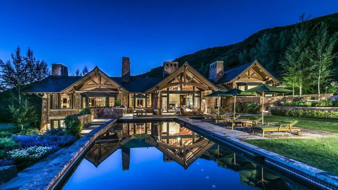 36m Custom Estate In Aspen Is Most Expensive New Listing Realtorcom