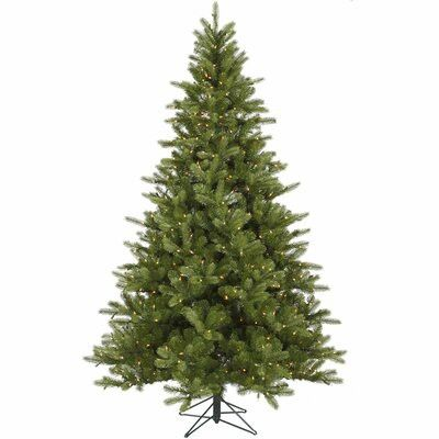 All of the branches on this artificial spruce tree are made from the greener PE plastic.