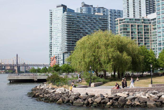 Long Island City has the most apartment units under construction in the nation, according to a recent report.