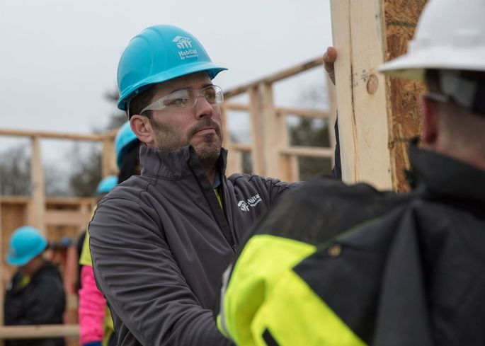 Jonathan helping make homes affordable, one house at a time