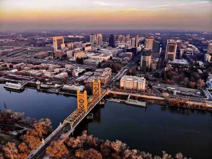 Sacramento, CA, was ranked as the top housing market for 2021.