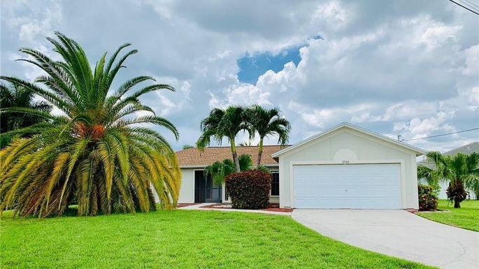 Three-bedroom home in Cape Coral, FL