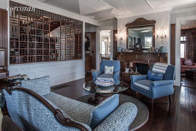 Fully restored living room