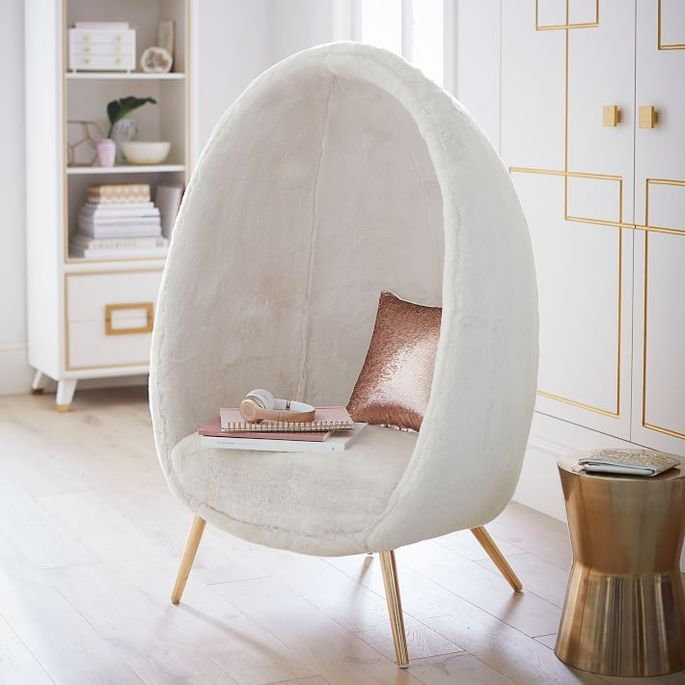 Even adults will wish they could take a time out in this soft, plush chair.