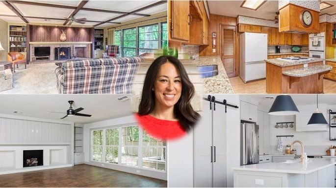 Exclusive Images Show Joanna Gaines Latest Home Before And After