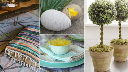 7 Genius Spring Decor Ideas From Your Humble Dollar Store