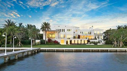 $61.5M Ocean-to-Lake Estate in Palm Beach Is Most Expensive New Listing