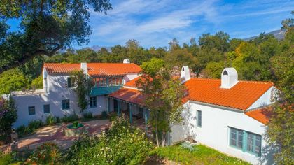 Old-School Opulence in Ojai: This 100-Year-Old Spanish Colonial Is Simply Gorgeous