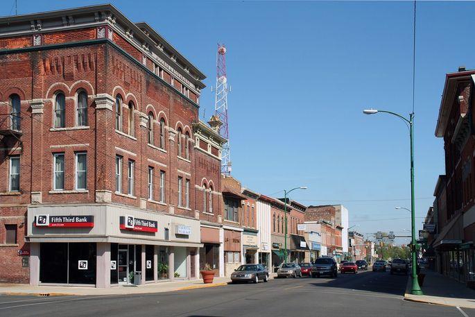 Downtown Decatur, IN