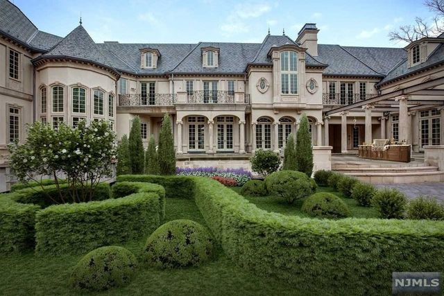Ilya Kovalchuk formal gardens Alpine, NJ mansion