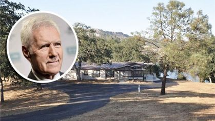 'Jeopardy' Host Alex Trebek Cuts Price on Lakefront Vacation Home