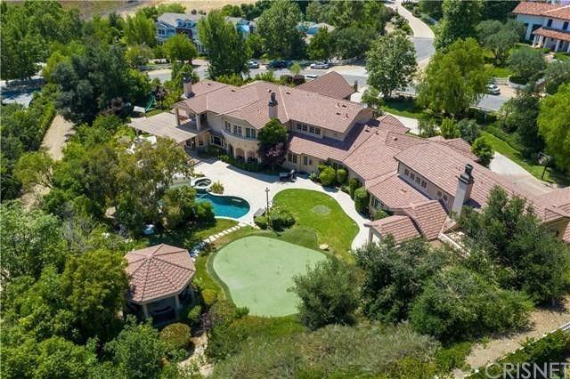 Russell Peters' home in Hidden Hills, CA