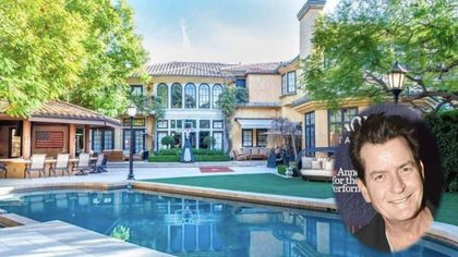 Charlie Sheen Selling Infamous Beverly Hills Mansion for $10M
