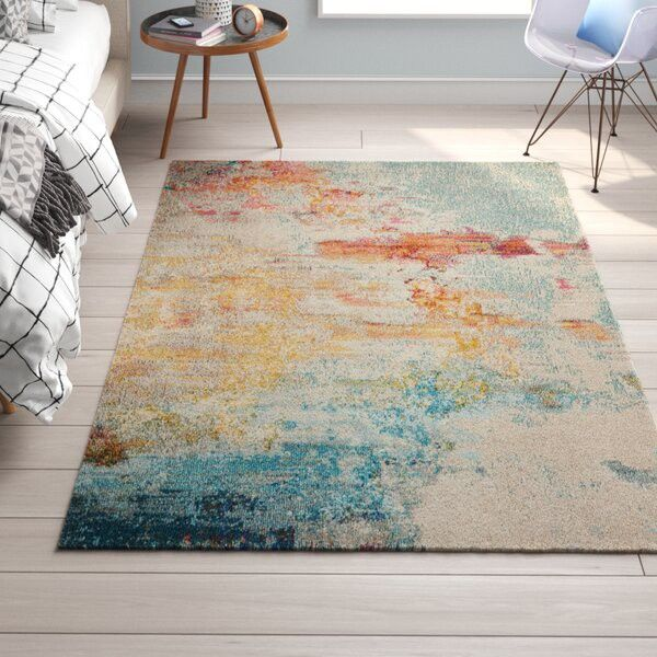 Rugs keep you from stepping on the cold floor each morning.
