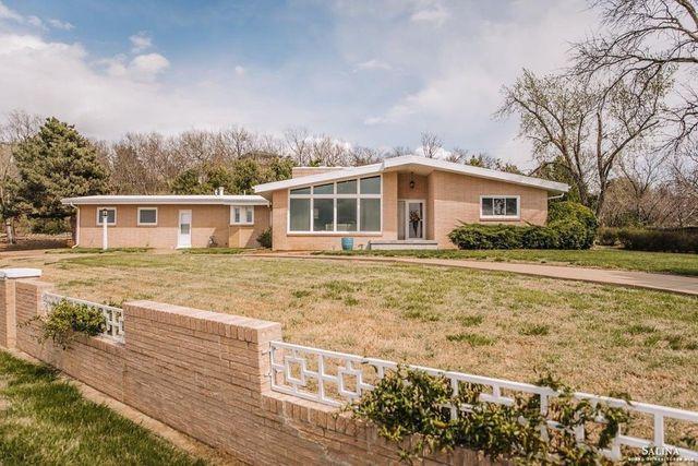 Salina KS mid centiry mod house exterior