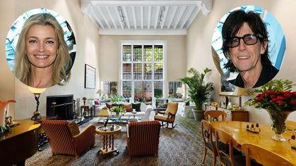Paulina Porizkova and Ric Ocasek Selling $15.25M NYC Townhouse