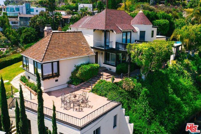 Rock Hudson's former Hollywood Hills home