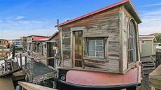 Where the Sidewalk Really Ends: Shel Silverstein's Former Houseboat for Sale in Sausalito