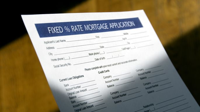 Fixed Rate Mortgage - Application Form