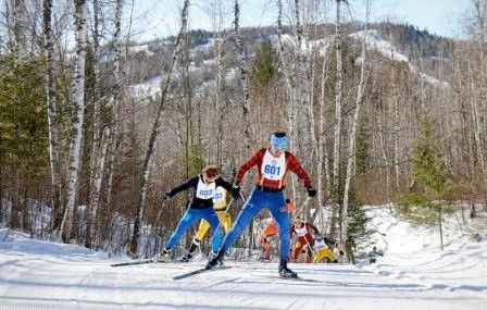 The Pepsi Challenge ski race in Biwabik