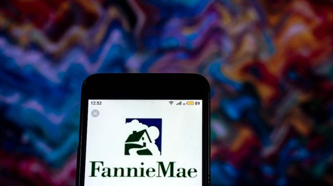 Fannie Mae Mortgage loan company  logo seen displayed on