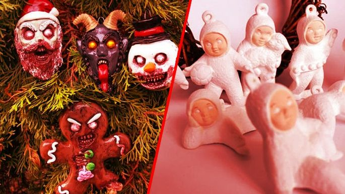 Horror Christmas Ornaments.7 Creepy Christmas Tree Ornaments You Can T Unsee Realtor Com