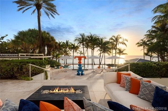 Tommy Hilfiger's beachfront home