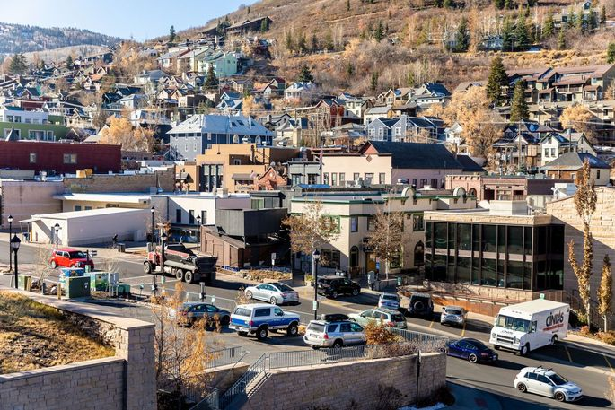 Smaller cities and towns like Park City, Utah (shown), and Tulsa, Okla., have benefited from the rise of remote work