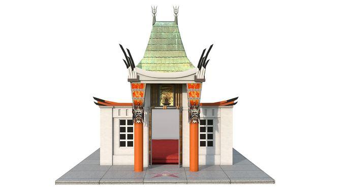 A custom doghouse for Hollywood hound Frankie Feldman
