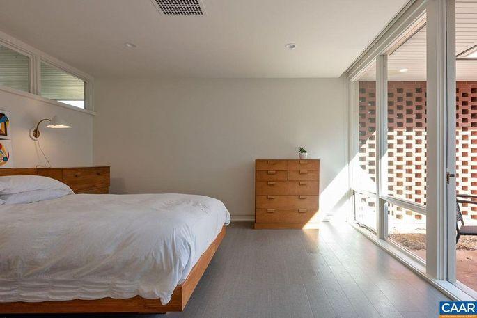 Bedroom with original furniture