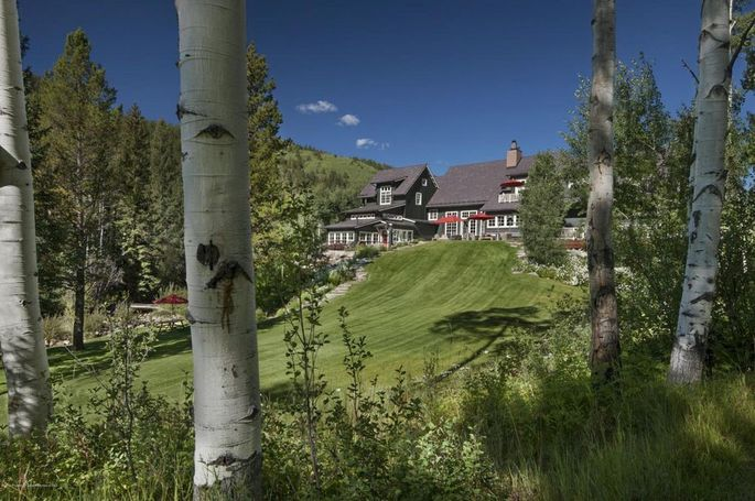 Kevin Costner's Independence Estate in Aspen, CO
