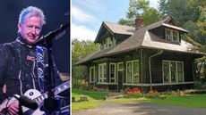 Legendary Rock Producer Lists His Converted Train Station in the Woods