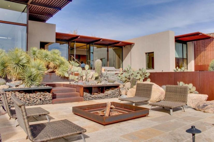 This Scottsdale Modern Melds Into The, Scottsdale Modern Furniture