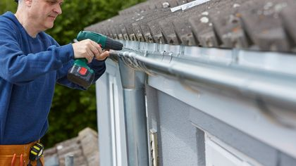 Gutter Repair: How to Repair and Clean Your Gutters and Downspouts