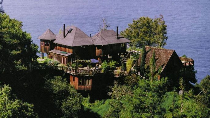 Awe Inspiring Breathtakingly Beautiful Big Sur Retreat Floats Onto The Download Free Architecture Designs Intelgarnamadebymaigaardcom
