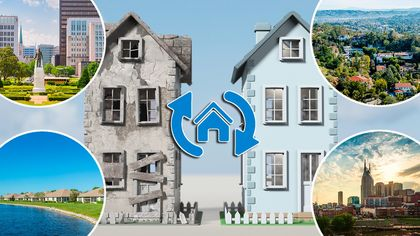 Flip It Good! Top 10 Home-Flipping Hotbeds Where Profits Are Through the Roof