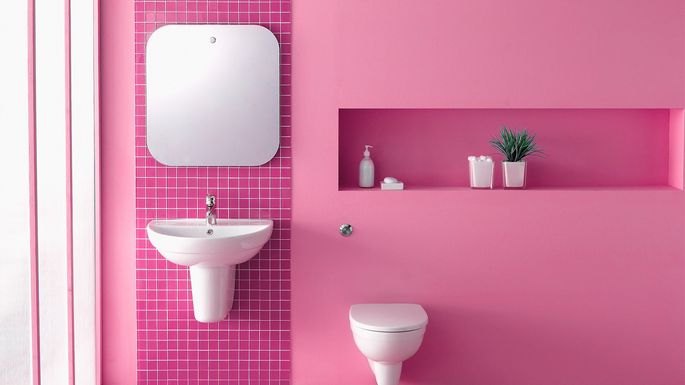 Pink Bathrooms List