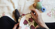 Embroidery Is Back! 8 Ways To Showcase Stitches in Your Home