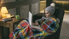 How To Stay Warm While Working From Home This Winter—Without Spending a Fortune on Heating