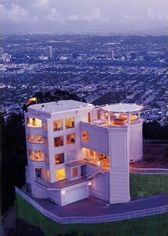 Modern Fortress in Los Angeles