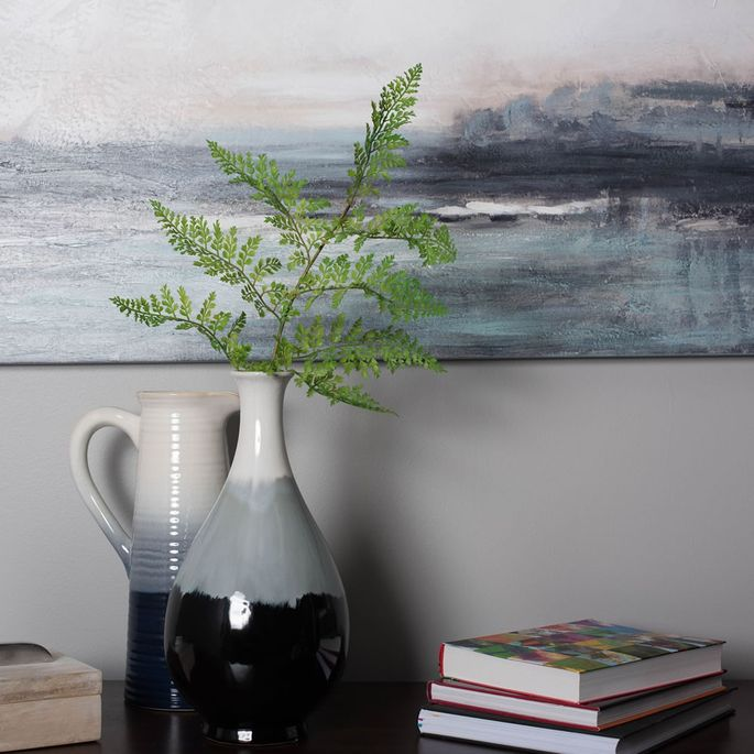 Attract attention with a simple fern.