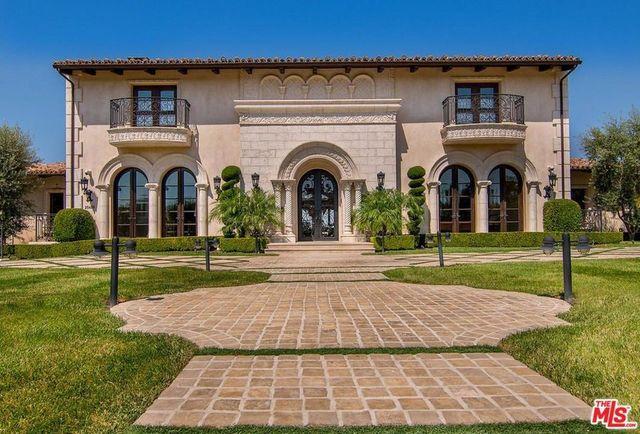 Tamar Braxton's Calabasas estate