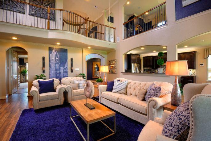 Oversized living room