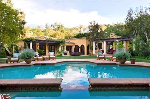 Charlie Sheen's New Home in Beverly Hills